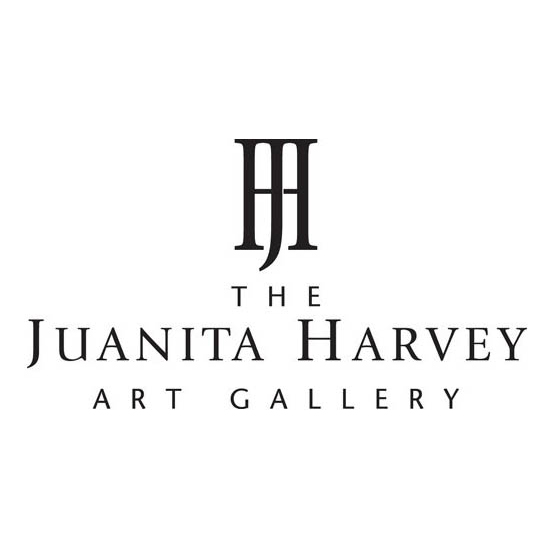Logo for The Juanita Harvey Art Gallery at Midwestern State University.