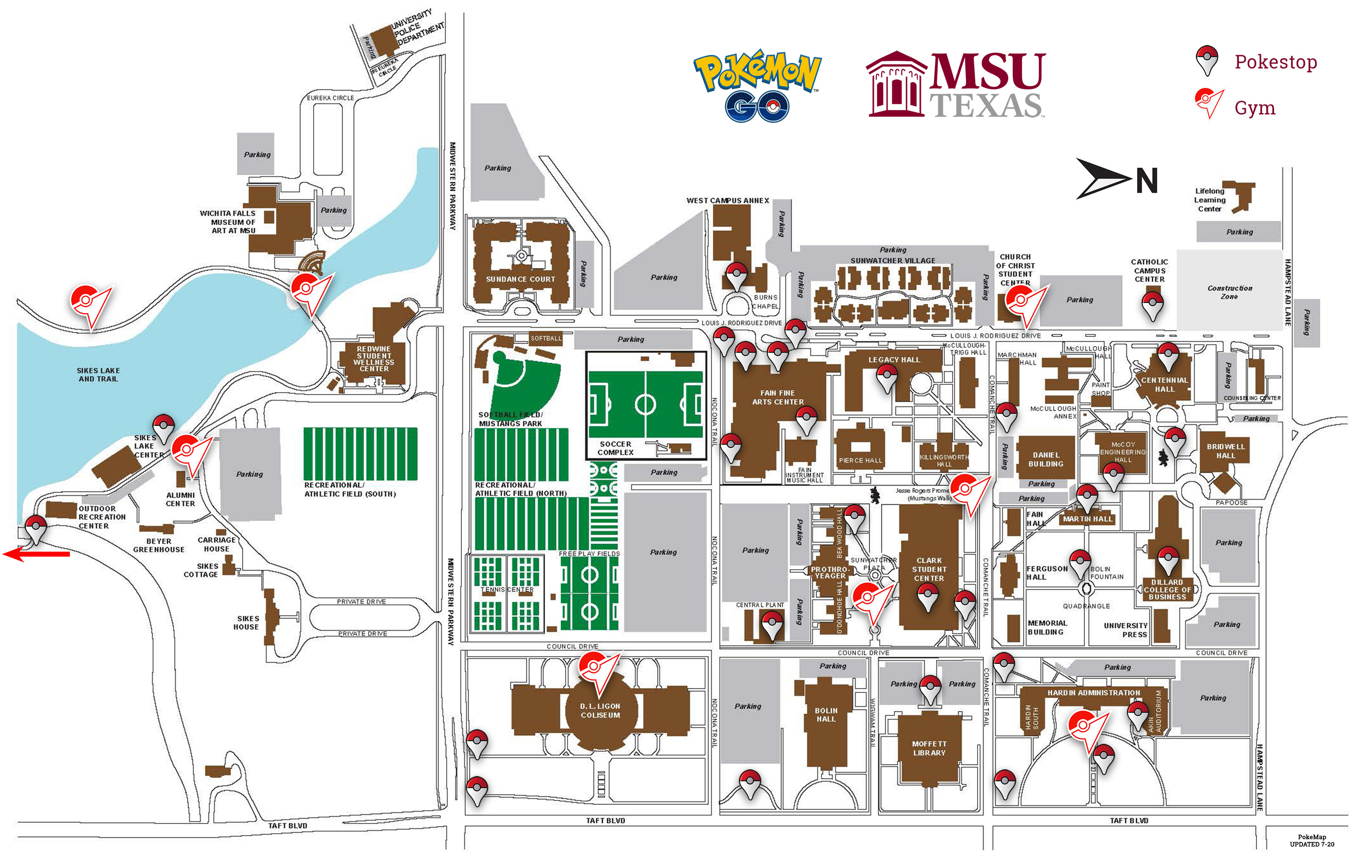 Pokemon Go Social Media Msu Texas